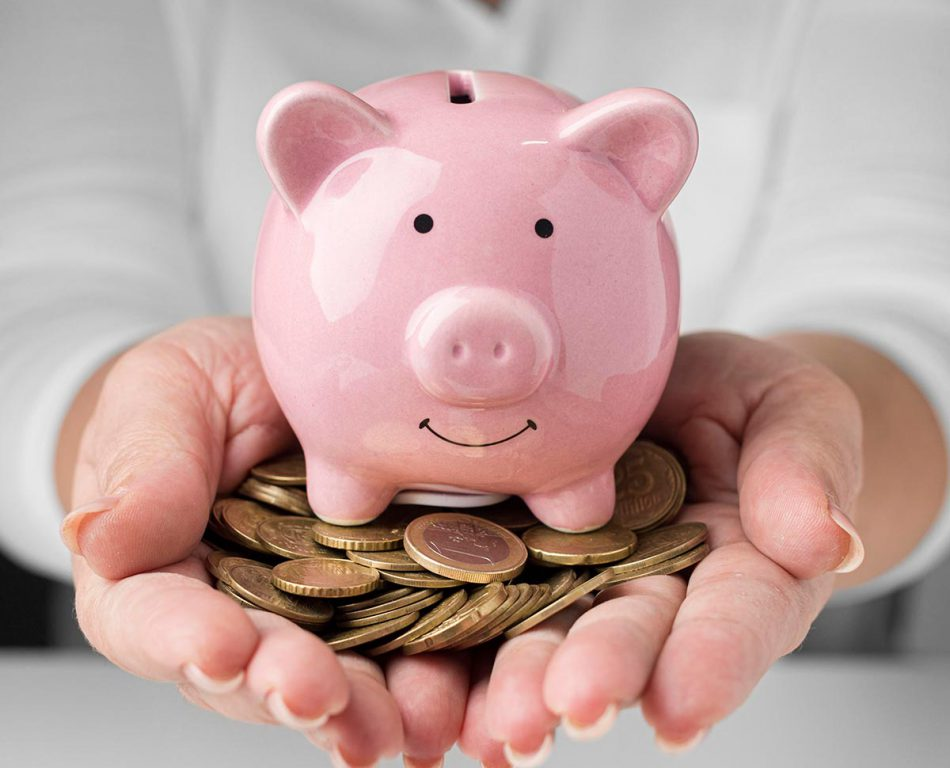 front-view-financial-elements-arrangement-with-coins